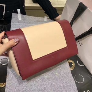 [new, unused] Céline Frame Medium Leather Bag